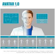 AVATAR 1.0 Man 3d model