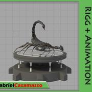 Black Scorpion 3d model