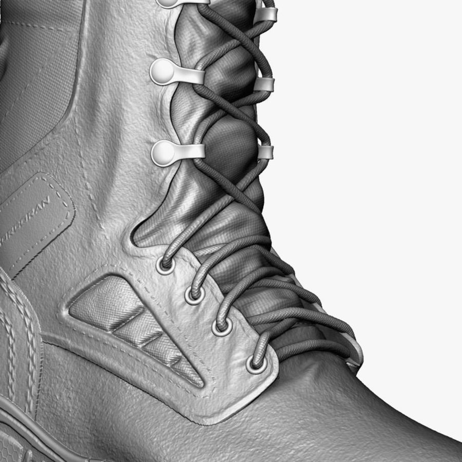 Army Boot Corcoran royalty-free 3d model - Preview no. 3