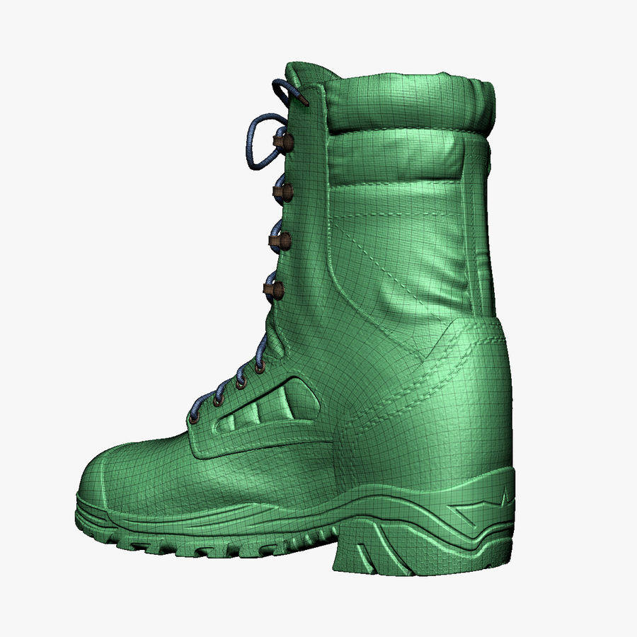 Army Boot Corcoran royalty-free 3d model - Preview no. 7