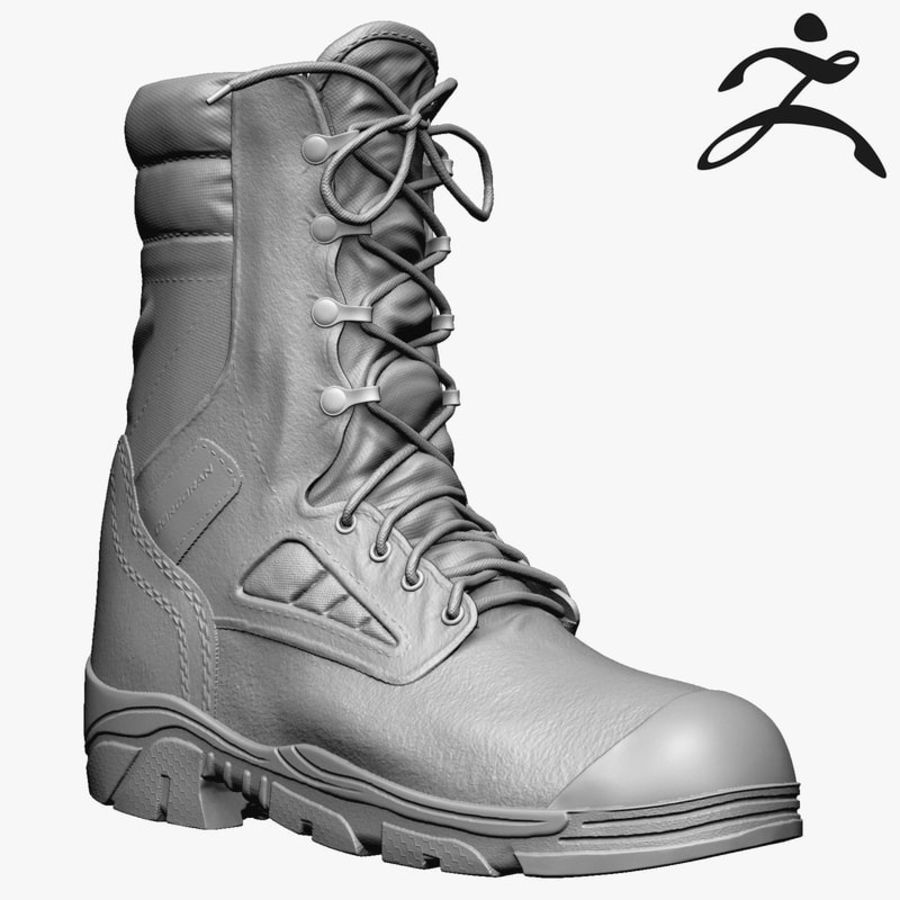 Army Boot Corcoran royalty-free 3d model - Preview no. 1
