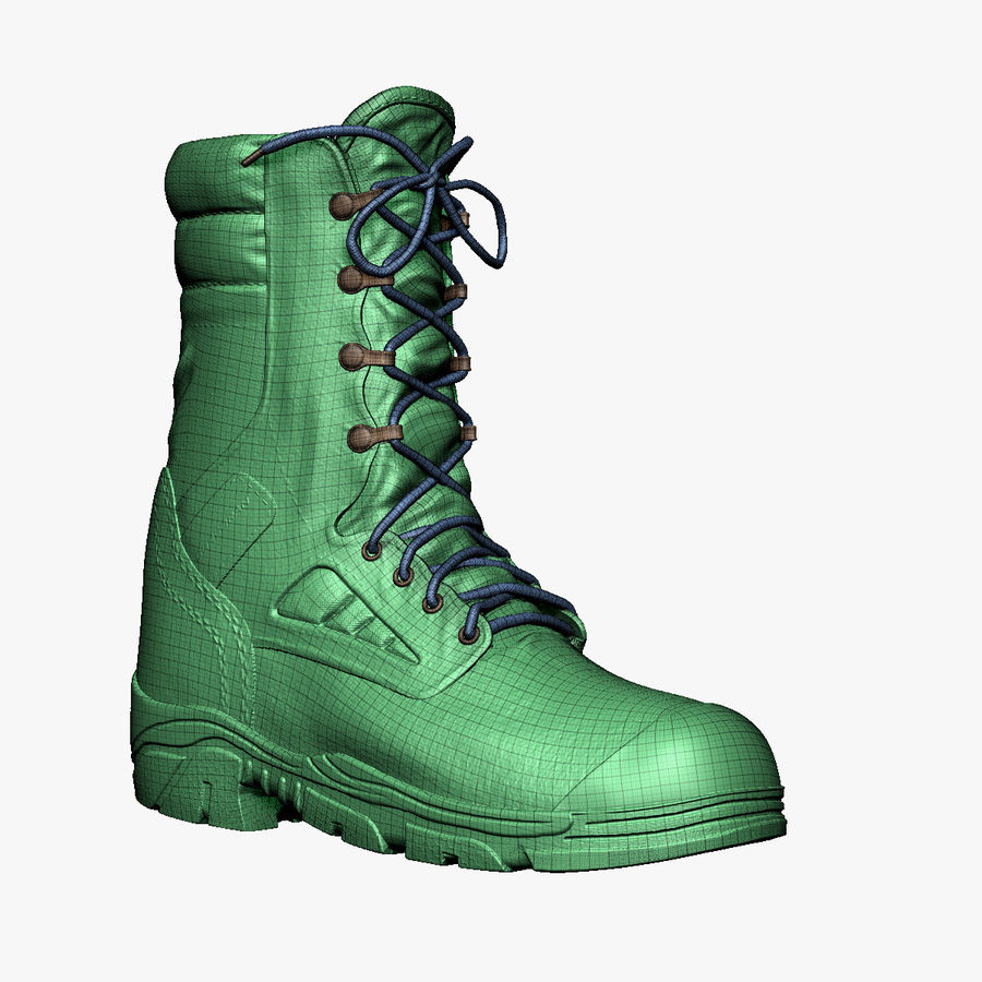 Army Boot Corcoran royalty-free 3d model - Preview no. 6