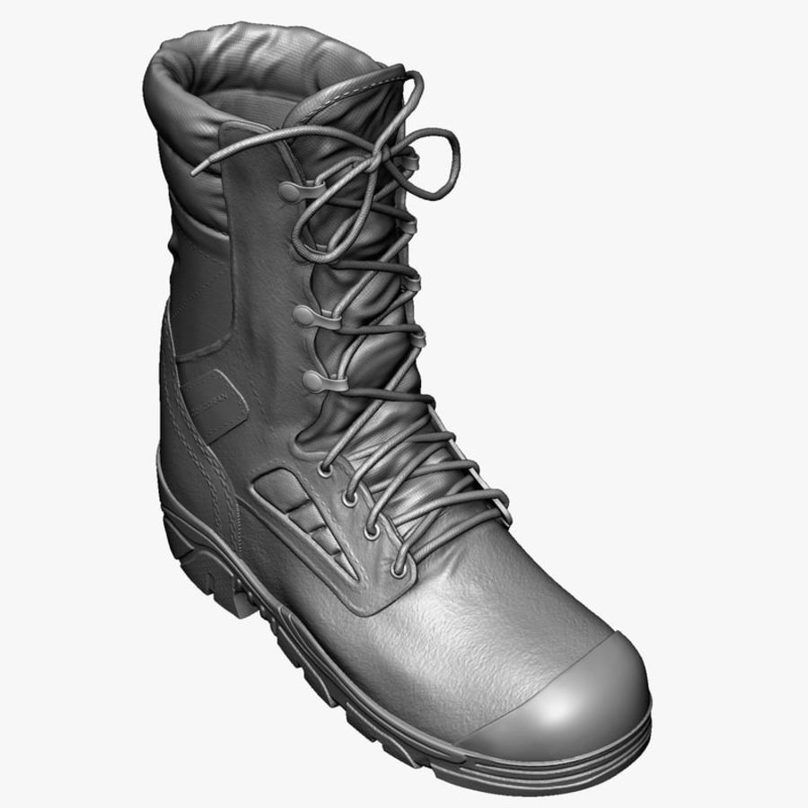 Army Boot Corcoran royalty-free 3d model - Preview no. 2