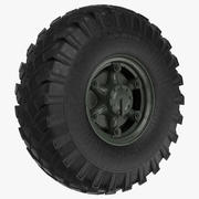Big Truck Wheel ZIL 3d model