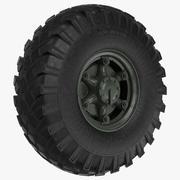 Grande caminhão roda zil 3d model