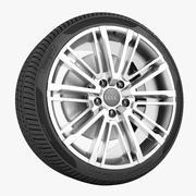 Audi A4 2016 Wheel 3d model