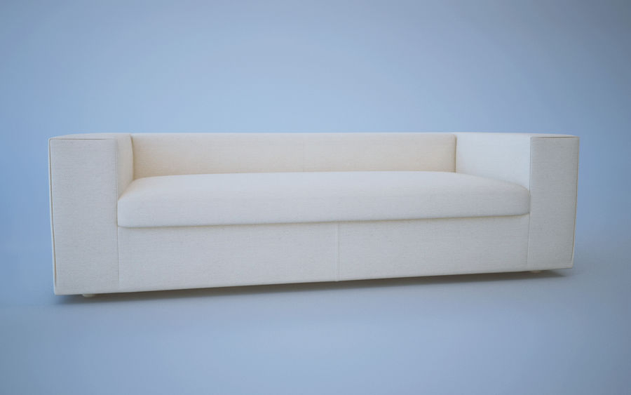 Soffa royalty-free 3d model - Preview no. 2
