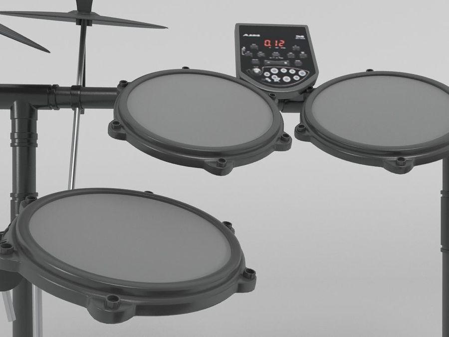 ЭЛЕКТРОННЫЙ БАРАБАН royalty-free 3d model - Preview no. 5