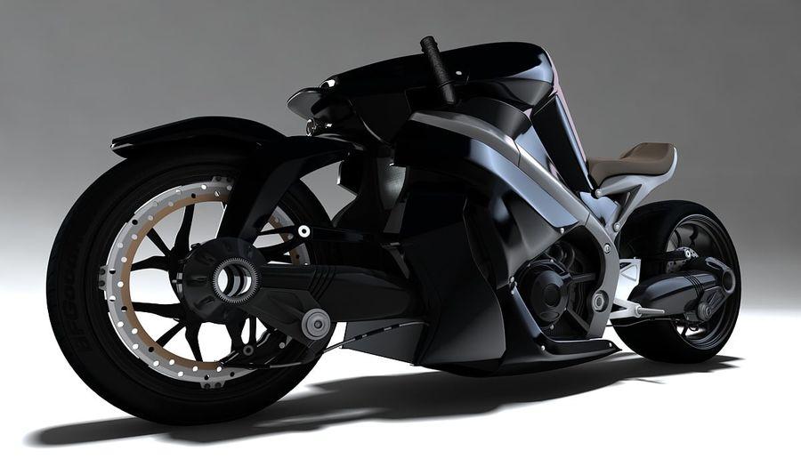 摩托车Ostoure royalty-free 3d model - Preview no. 1