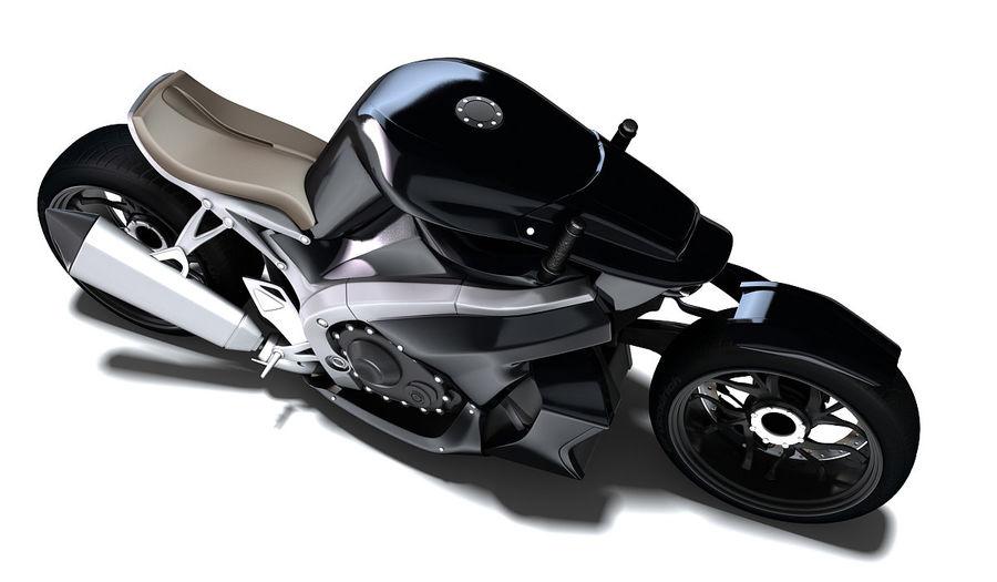 摩托车Ostoure royalty-free 3d model - Preview no. 3