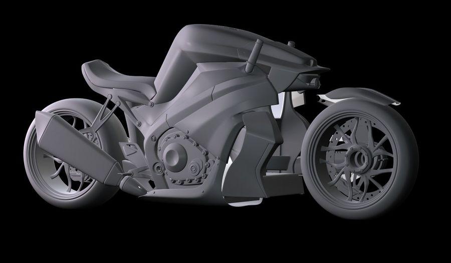 摩托车Ostoure royalty-free 3d model - Preview no. 15
