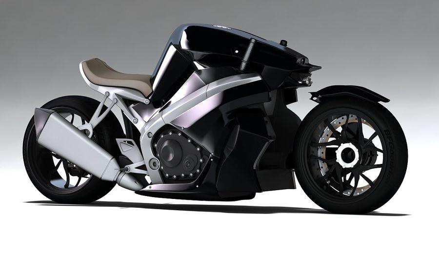 摩托车Ostoure royalty-free 3d model - Preview no. 5