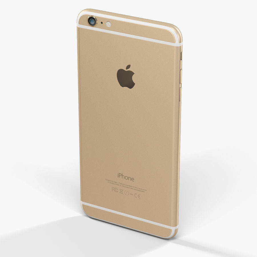 Apple iPhone 6 Plus royalty-free 3d model - Preview no. 5