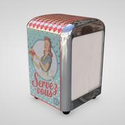 Vintage Napkin Dispenser 3d model