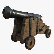 Cannone 3d model