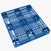 Palete de Plástico 10 3d model