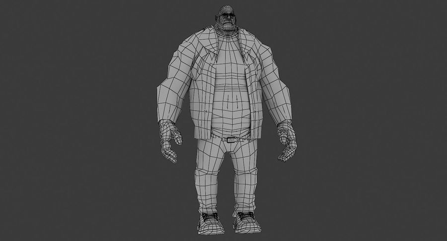 Schwer royalty-free 3d model - Preview no. 8