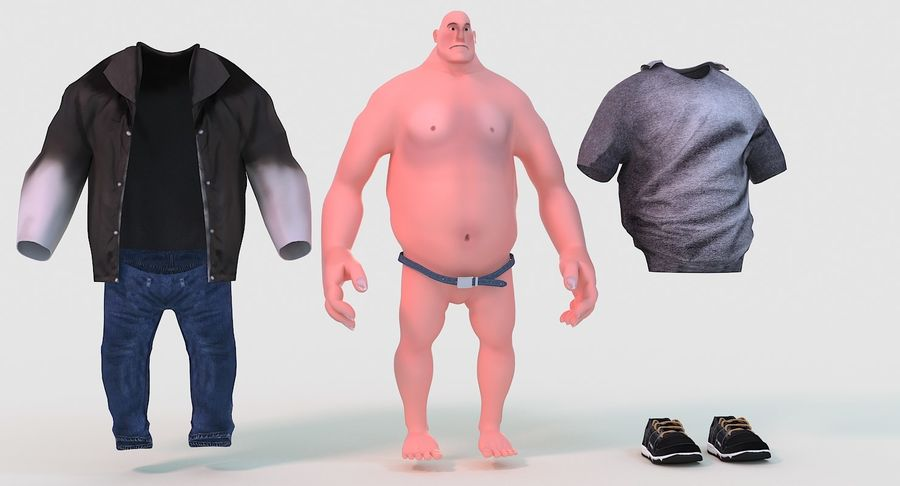 Schwer royalty-free 3d model - Preview no. 7