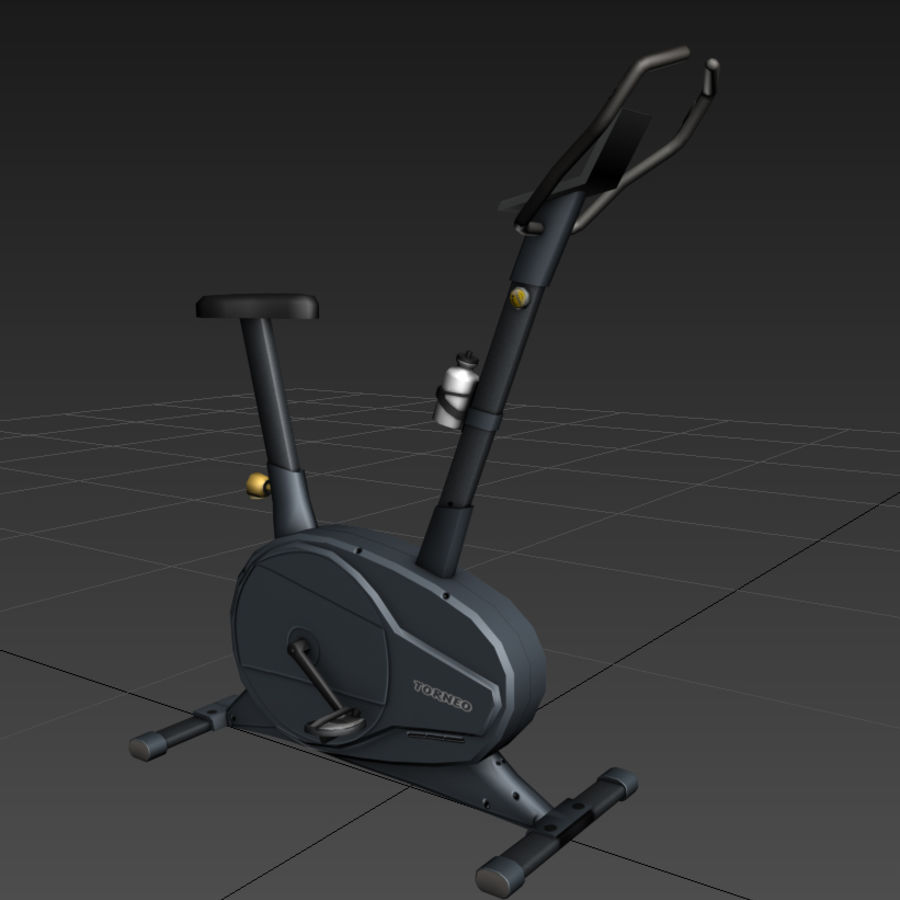 Heimtrainer royalty-free 3d model - Preview no. 4