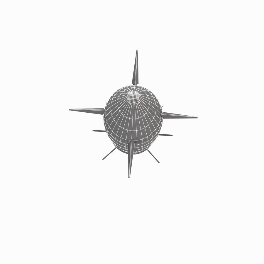 Excalibur Shell 155mm royalty-free 3d model - Preview no. 13