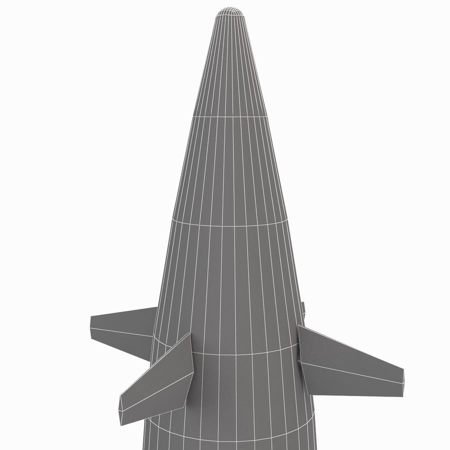Excalibur Shell 155mm royalty-free 3d model - Preview no. 15