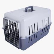 Mobile Pet Carrier 1 Blue 3d model