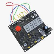 プリント回路基板 3d model