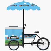 벤 & 제리 아이스크림 장바구니 3d model