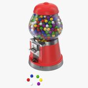Bubble Gum Dispenser 3d model