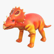 Dinosaur Toy Triceratops Modello 3D 3d model