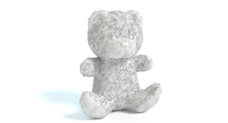 Teddy Bear 2 royalty-free 3d model - Preview no. 9