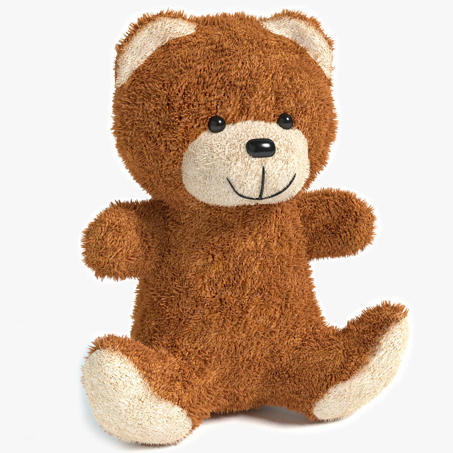 Teddy Bear 2 royalty-free 3d model - Preview no. 1