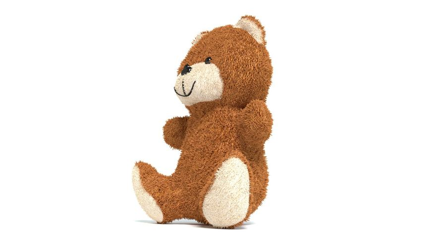 Teddy Bear 2 royalty-free 3d model - Preview no. 6