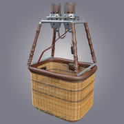 Air Balloon Basket 3d model