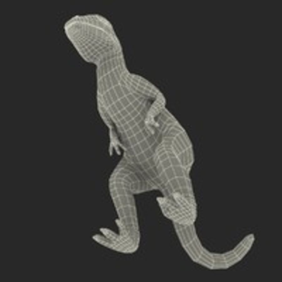 Dinosaur Toy Velociraptor Modello 3D royalty-free 3d model - Preview no. 21