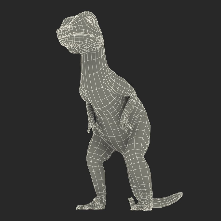 Dinosaur Toy Velociraptor Modello 3D royalty-free 3d model - Preview no. 18