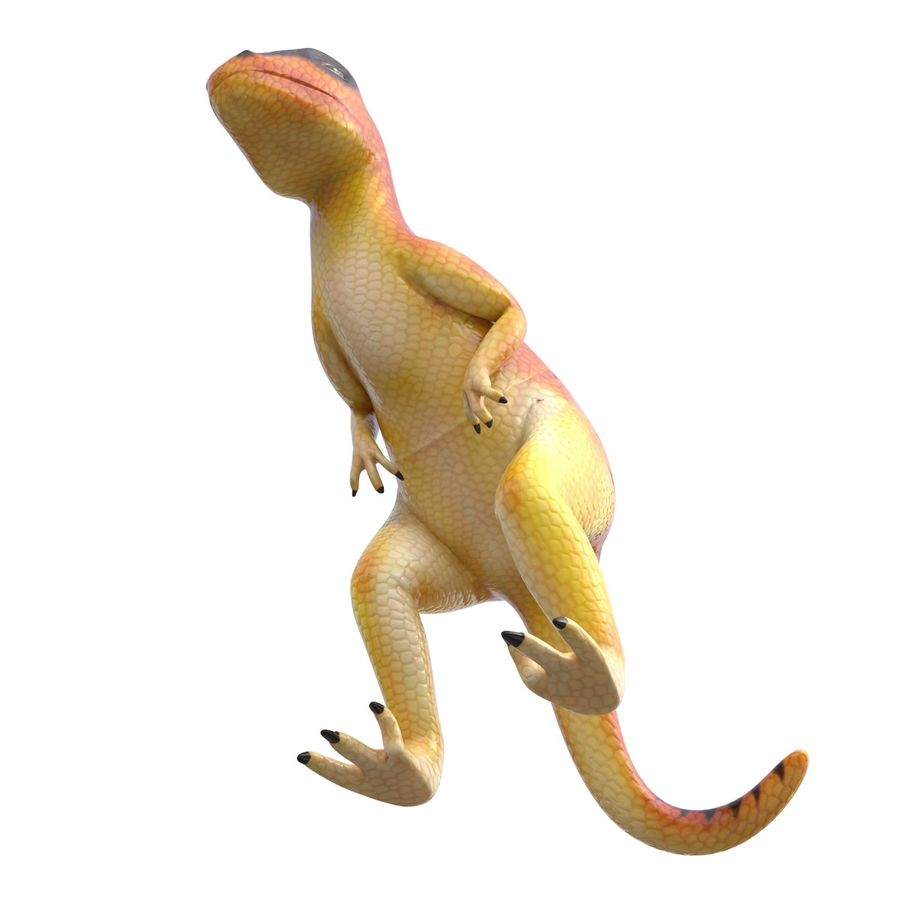Dinosaur Toy Velociraptor Modello 3D royalty-free 3d model - Preview no. 10