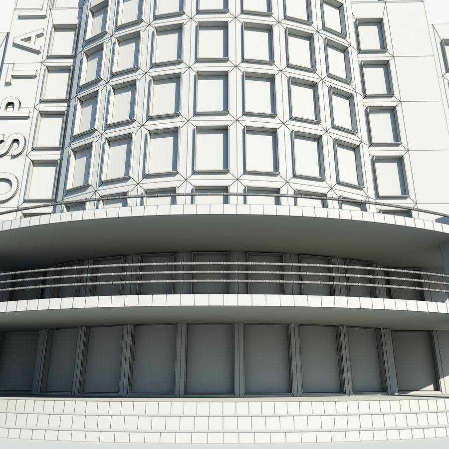 Hospital Building Symbol royalty-free 3d model - Preview no. 9