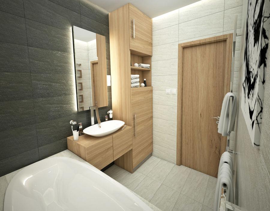 Kleine badkamer interieur d model obj ds max free d
