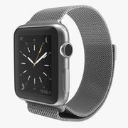 Apple Watch 38mm Milanese Loop 2 3d model