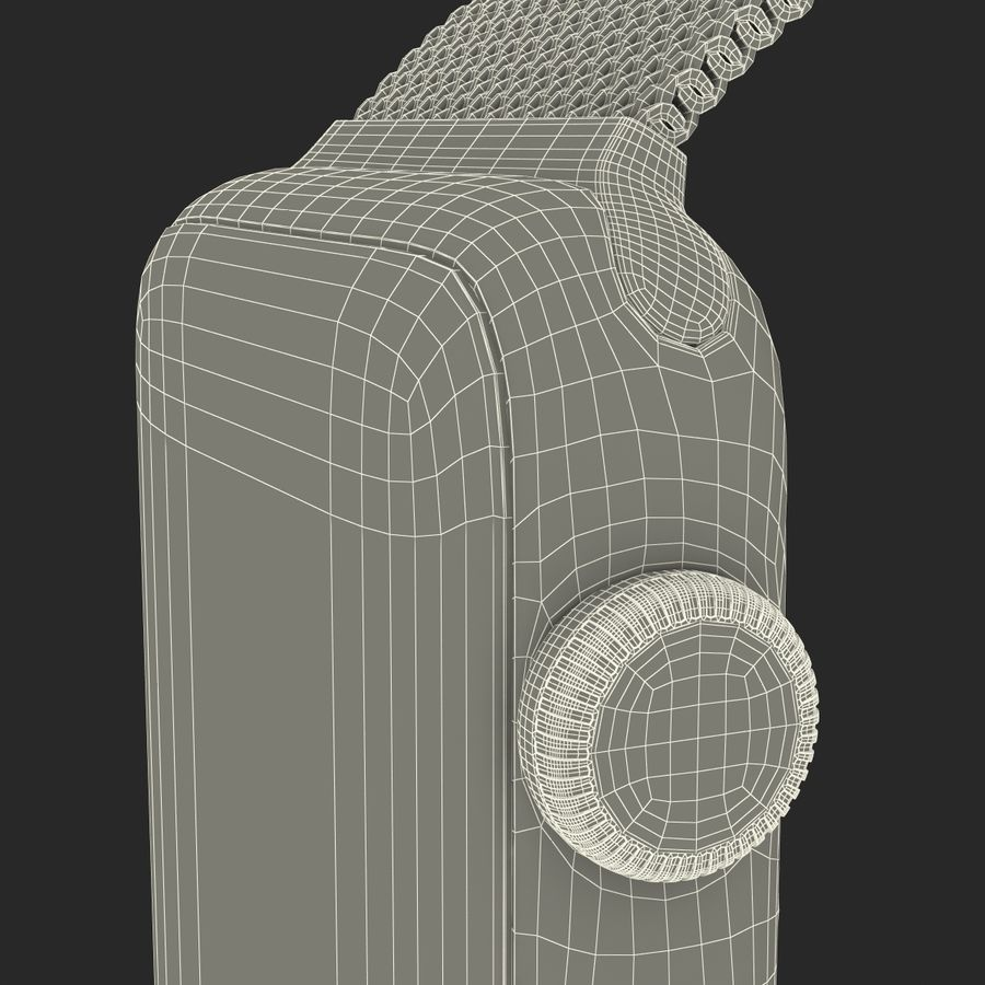 Apple Watch 38mm Milanese Loop 2 royalty-free 3d model - Preview no. 32
