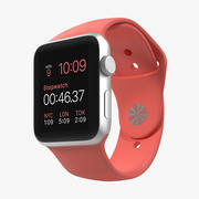 Apple Watch Esporte Rosa 42mm 3d model