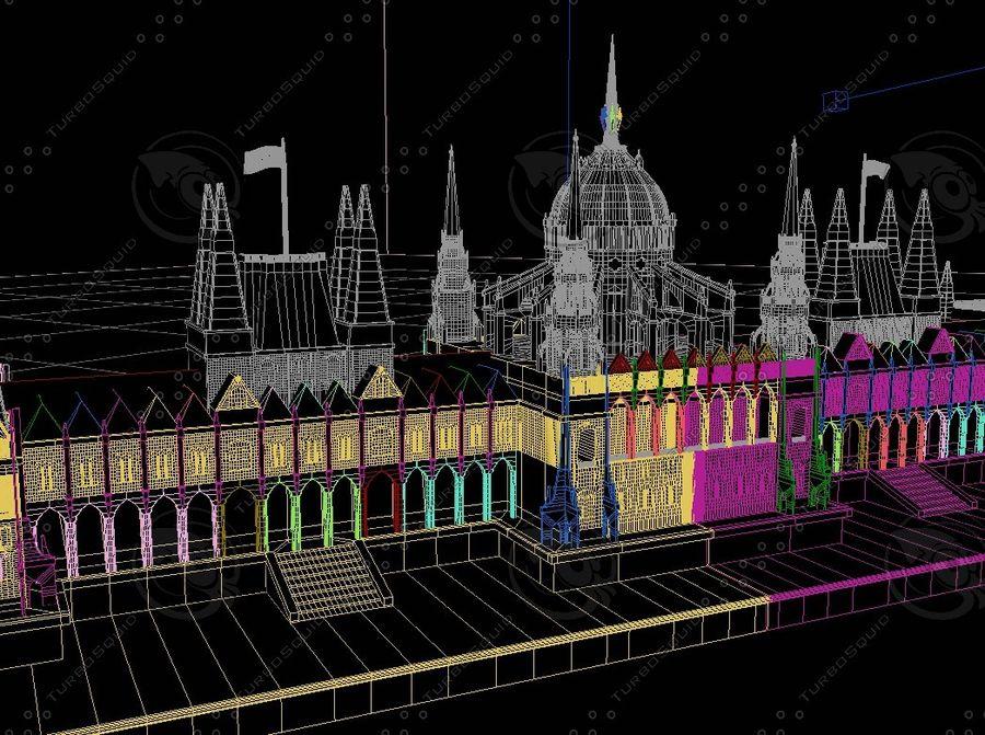 부다페스트의 건축 기념물 royalty-free 3d model - Preview no. 7
