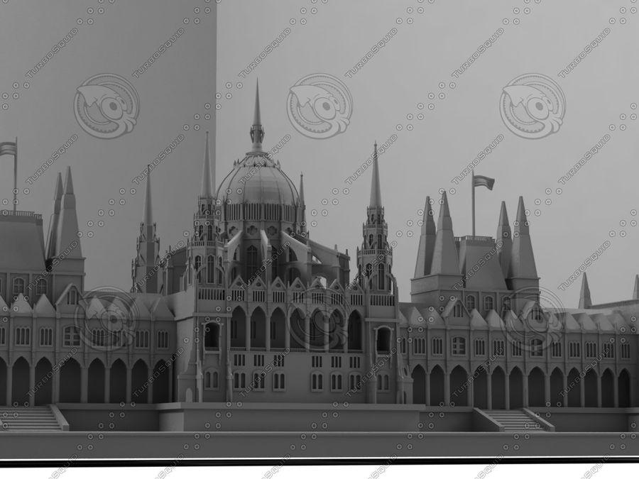 부다페스트의 건축 기념물 royalty-free 3d model - Preview no. 6