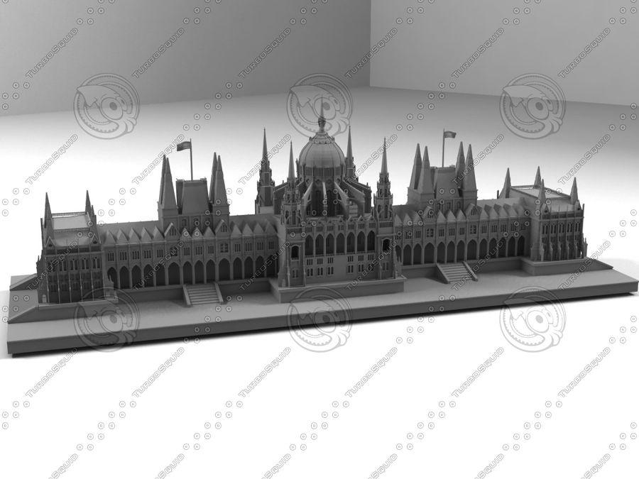 부다페스트의 건축 기념물 royalty-free 3d model - Preview no. 2