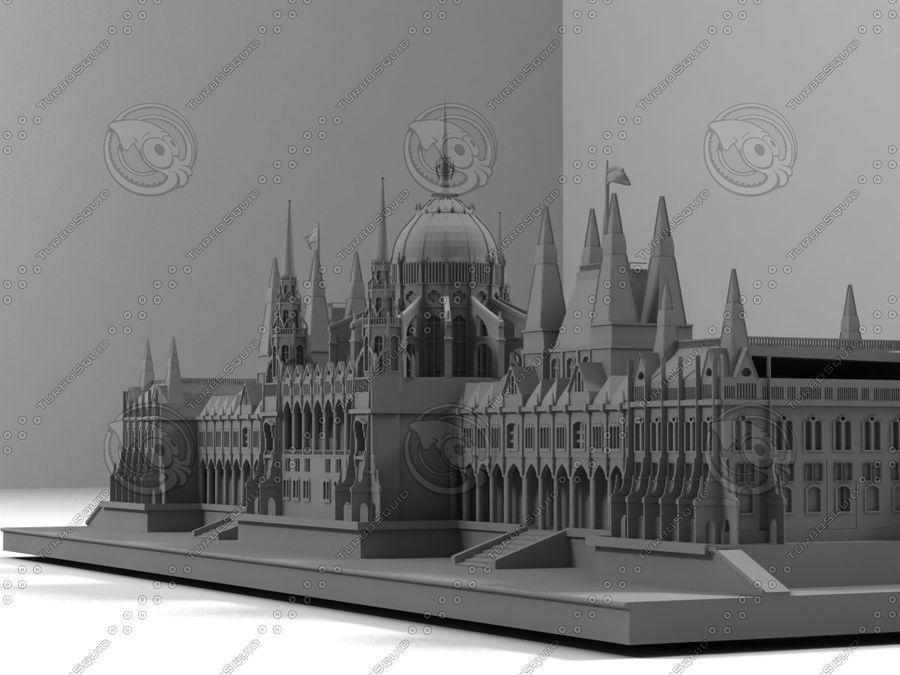 부다페스트의 건축 기념물 royalty-free 3d model - Preview no. 5