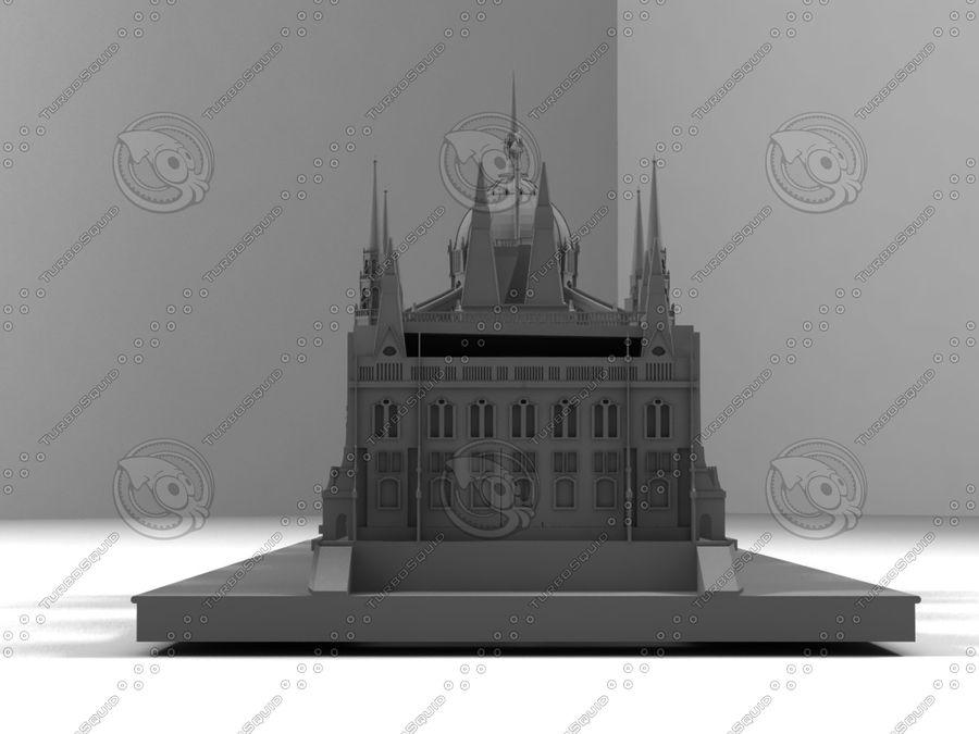 부다페스트의 건축 기념물 royalty-free 3d model - Preview no. 4