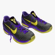 Zapatillas Nike Zoom Black Modelo 3D modelo 3d