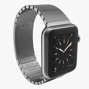 Apple Watch 38mm Link Bracelet Dark Space 2 3d model