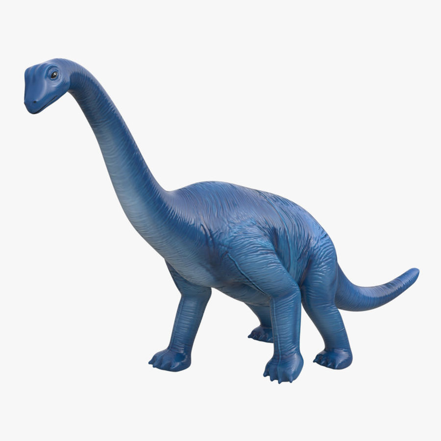Dinosaur Toy Brachiosaurus royalty-free 3d model - Preview no. 1